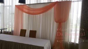 Украшение на свадьбу в персиковом цвете недорого