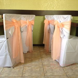 Оформление на свадьбу в персиковом цвете недорого
