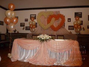Украшение свадеб в персиковом цвете красиво