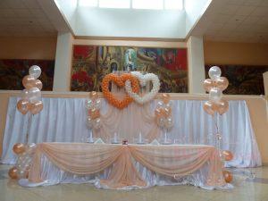 Декор свадьбы в персиковом цвете недорого