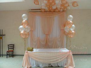 Декор свадеб в персиковом цвете красиво
