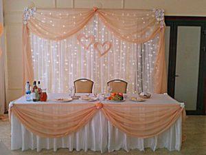 Оформление на свадьбу в персиковом цвете недорого цены