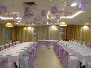 Оформление свадеб в пурпурном цвете оригинально