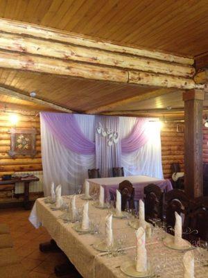 Декор свадьбы в пурпурном цвете недорого