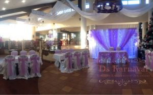 Декор свадеб в пурпурном цвете фото и цены