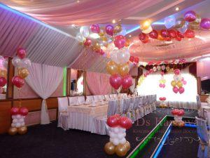 Украшение свадьбы в разных цветах красиво