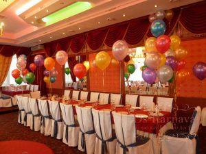 Декор свадьбы в разных цветах цены