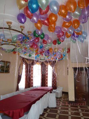 Декор свадьбы в разных цветах оригинально
