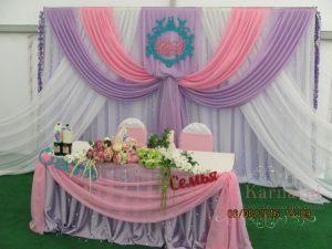 Украшение на свадьбу в розовом цвете фото