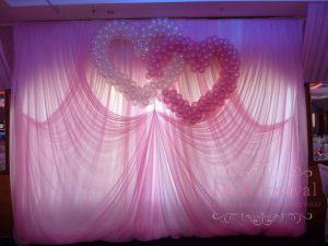 Оформление на свадьбу в розовом цвете в Москве