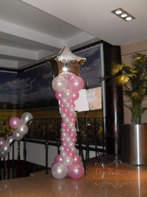 Украшение свадеб в розовом цвете красиво
