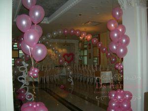 Декор на свадьбу в розовом цвете красиво