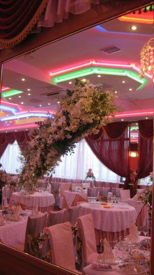 Украшение свадеб в розовом цвете оригинально