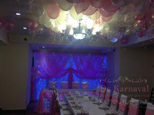 Украшение свадеб в розовом цвете недорого
