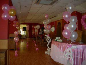 Оформление свадьбы в розовом цвете недорого в Москве