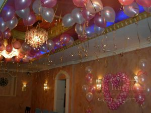 Украшение свадьбы в розовом цвете цены
