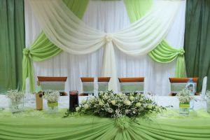Оформление свадьбы в салатовом цвете недорого в Москве