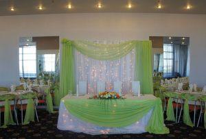 Украшение на свадьбу в салатовом цвете недорого в Москве