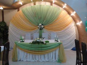 Декор на свадьбу в салатовом цвете цены