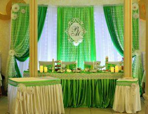 Декор свадьбы в салатовом цвете недорого цены