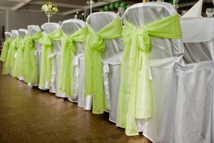 Оформление свадеб в салатовом цвете фото