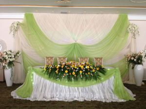 Оформление свадеб в салатовом цвете недорого в Москве