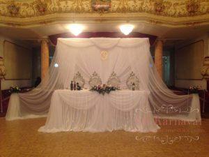 Украшение свадеб в серебряном цвете недорого в Москве