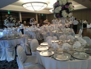 Оформление свадьбы в серебряном цвете красиво