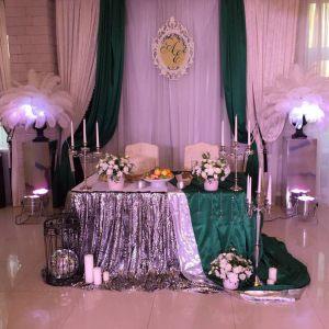 Декор свадьбы в серебряном цвете фото и цены