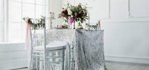 Декор свадеб в серебряном цвете цены