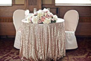 Украшение свадеб в серебряном цвете в Москве