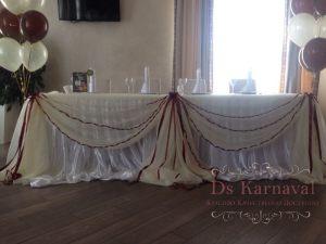 Декор на свадьбу в сером цвете недорого