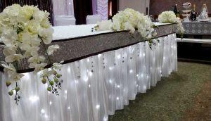 Оформление свадьбы в сером цвете недорого