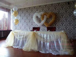 Украшение свадьбы в сером цвете цены