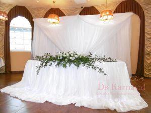 Декор на свадьбу в цвете шампань фото