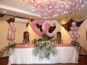 Декор на свадьбу в цвете шампань цены