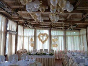 Украшение свадеб в цвете шампань недорого в Москве