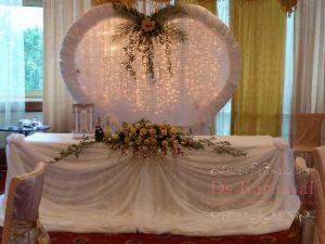 Оформление свадеб в цвете шампань оригинально