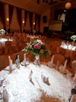 Украшение на свадьбу в цвете шампань фото