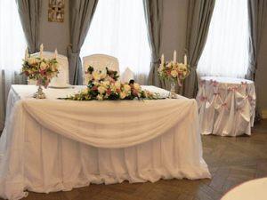 Украшение свадеб в цвете шампань красиво