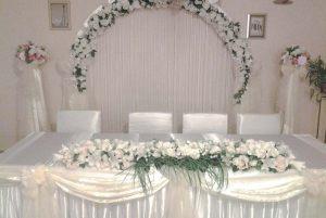 Оформление на свадьбу в цвете шампань фото и цены