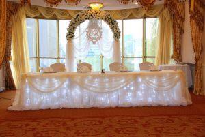 Украшение свадеб в цвете шампань фото и цены