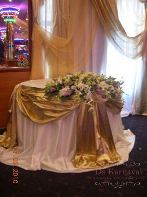 Украшение свадьбы в шоколадном цвете фото