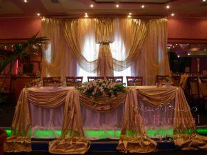 Оформление на свадьбу в шоколадном цвете дешево