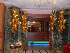 Декор на свадьбу в шоколадном цвете оригинально