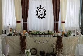 Украшение свадеб в шоколадном цвете недорого цены