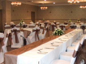 Оформление свадьбы в шоколадном цвете цены