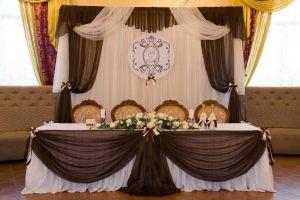 Оформление свадеб в шоколадном цвете недорого
