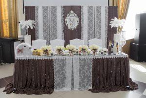 Оформление свадеб в шоколадном цвете недорого в Москве