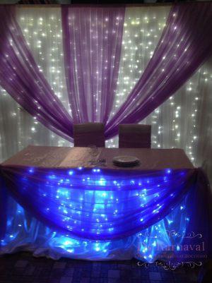 Декор свадеб в синем цвете недорого